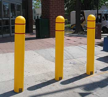 walkway post install