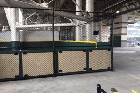 sport fencing install