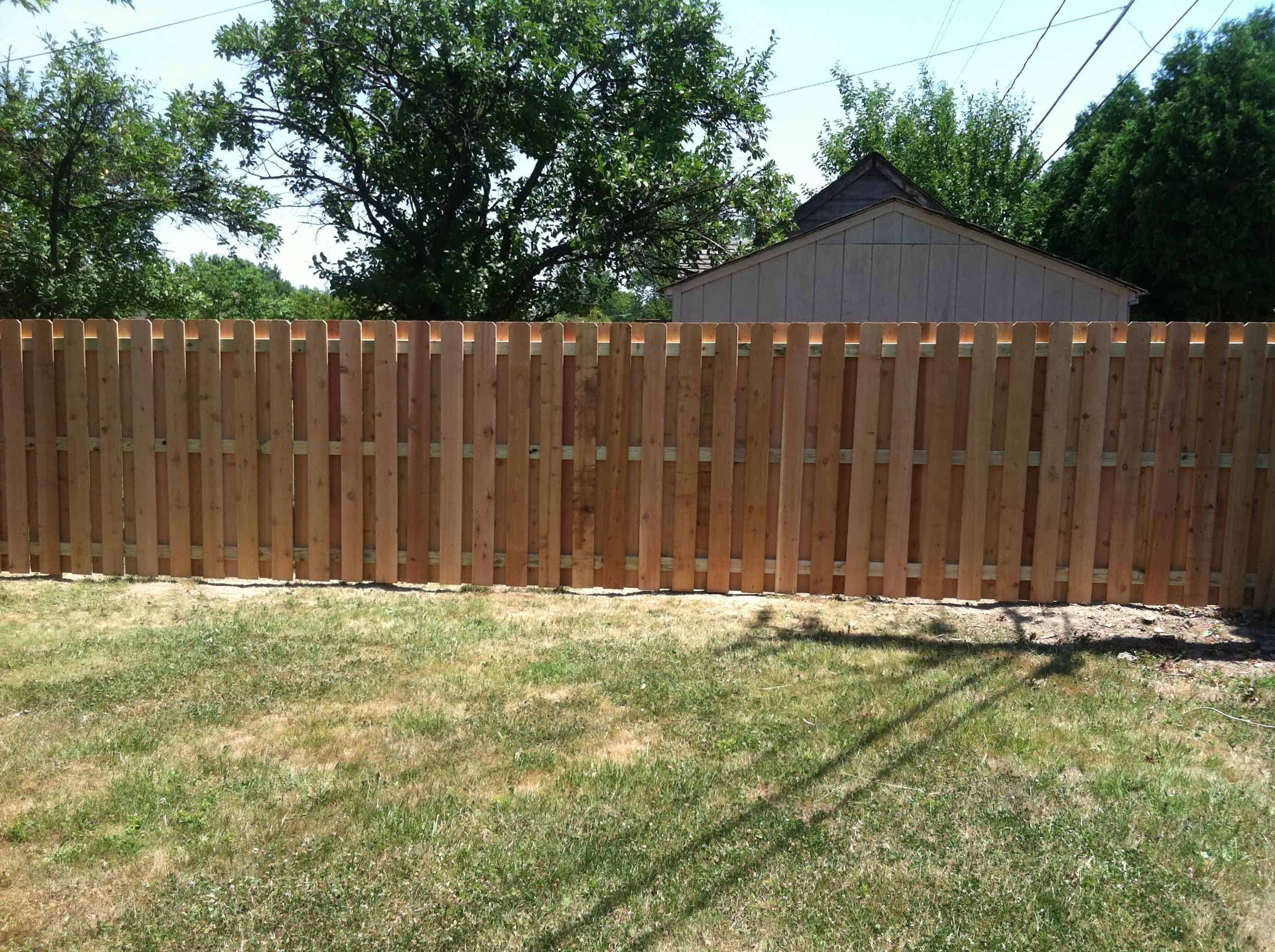 Board On Board Fence Installation In Cleveland Ohio Neo