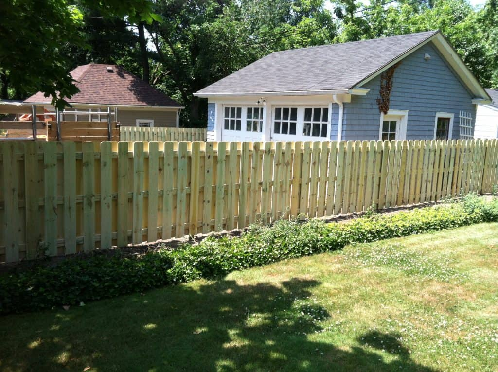 Solid Wood Fencing Installation Cleveland Northeast Ohio