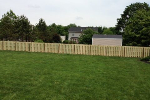 residential fence installation wood