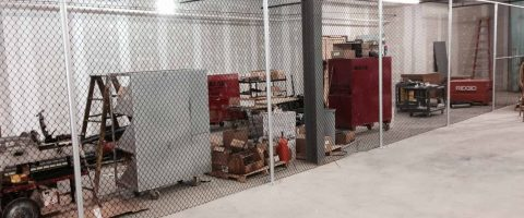 industrial fence install