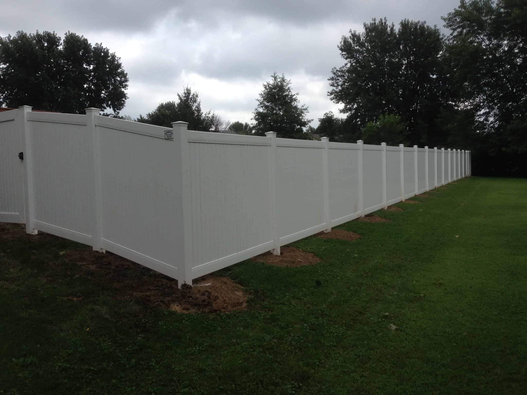 Vinyl Fence Install Cleveland Oh Northeast Ohio Fence