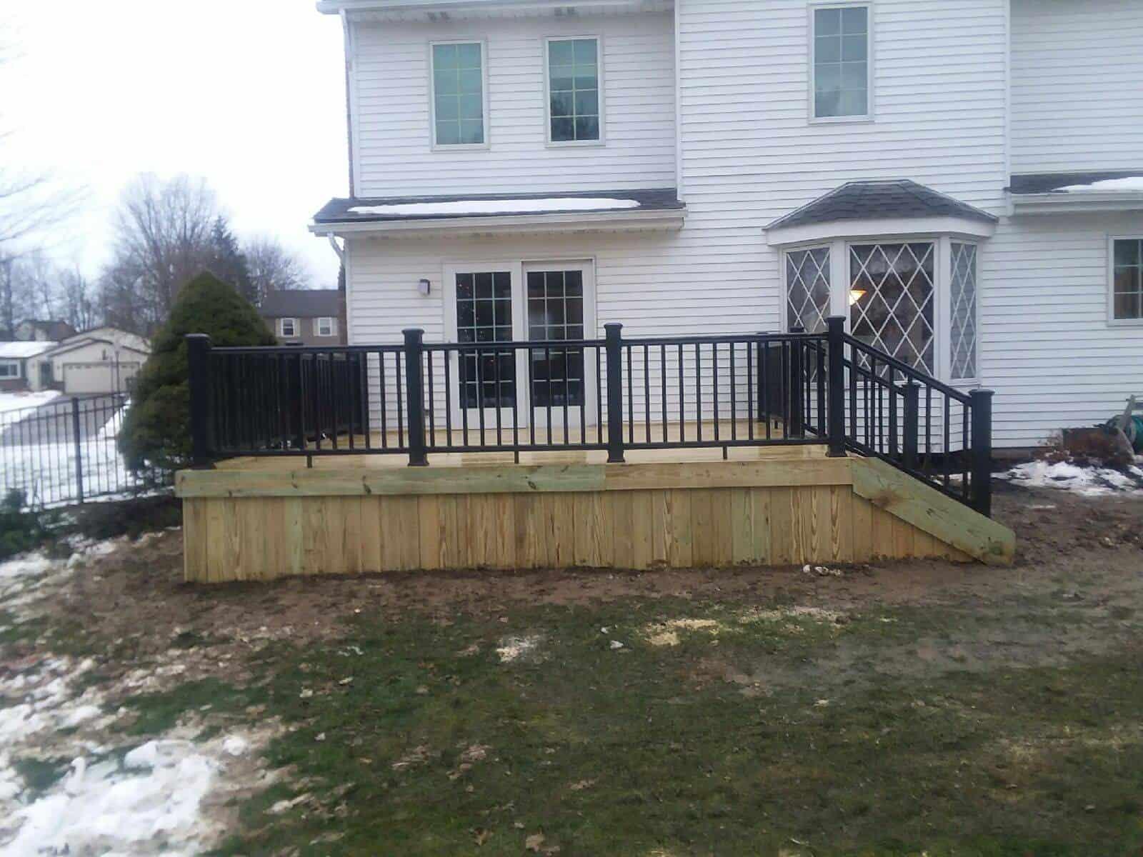 Custom Built Cleveland Oh Decks Northeast Ohio Fence Amp Deck